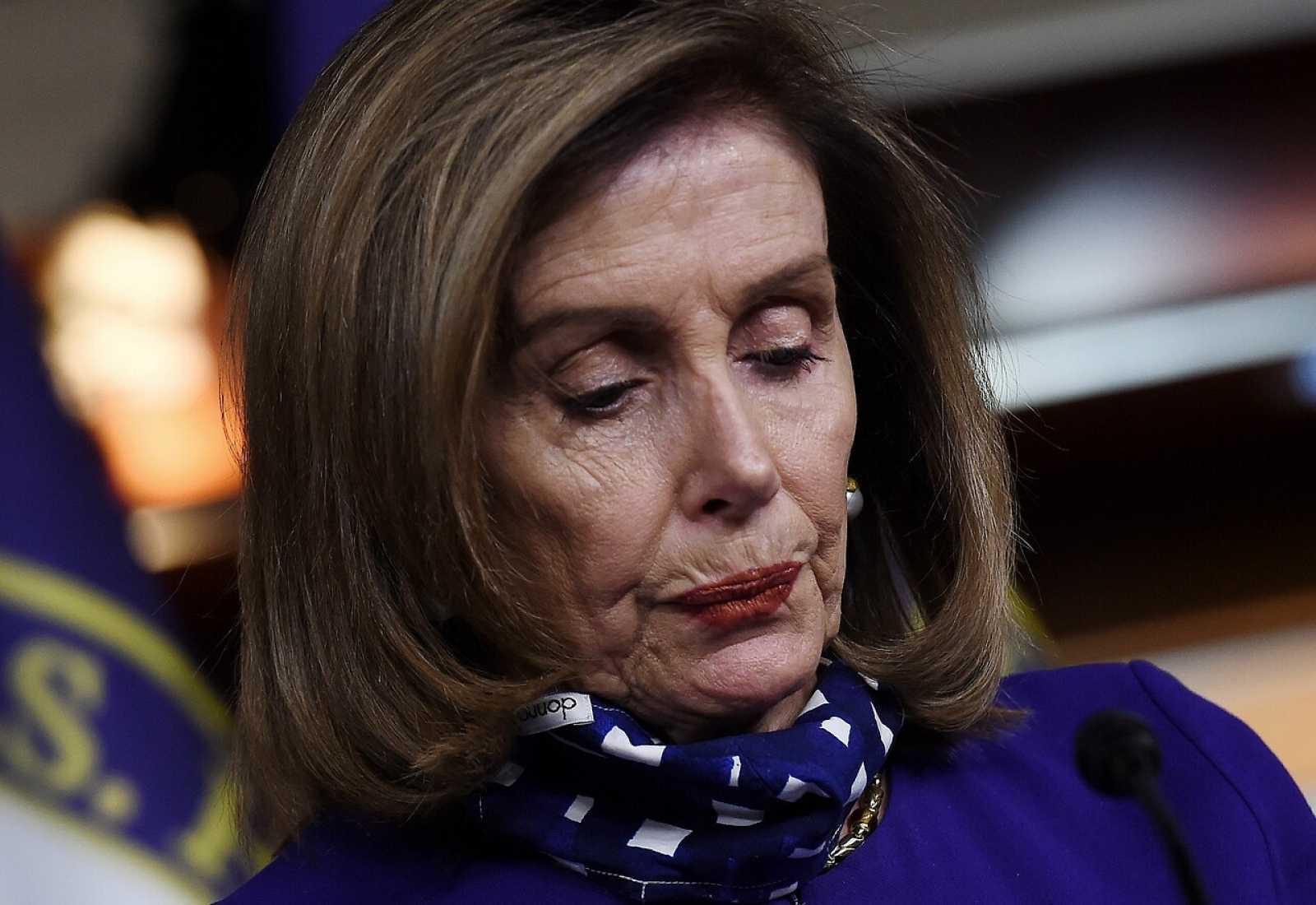 La presidenta de la Cámara de Representantes de los Estados Unidos, Nancy Pelosi.
