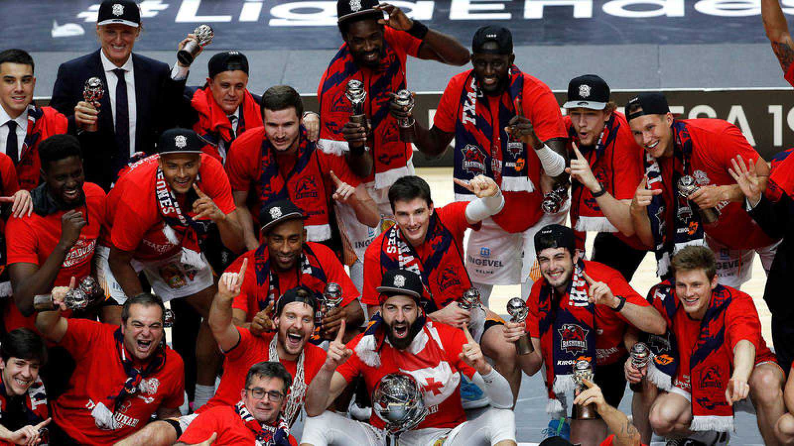El Baskonia es el defensor del título como campeón de Liga.