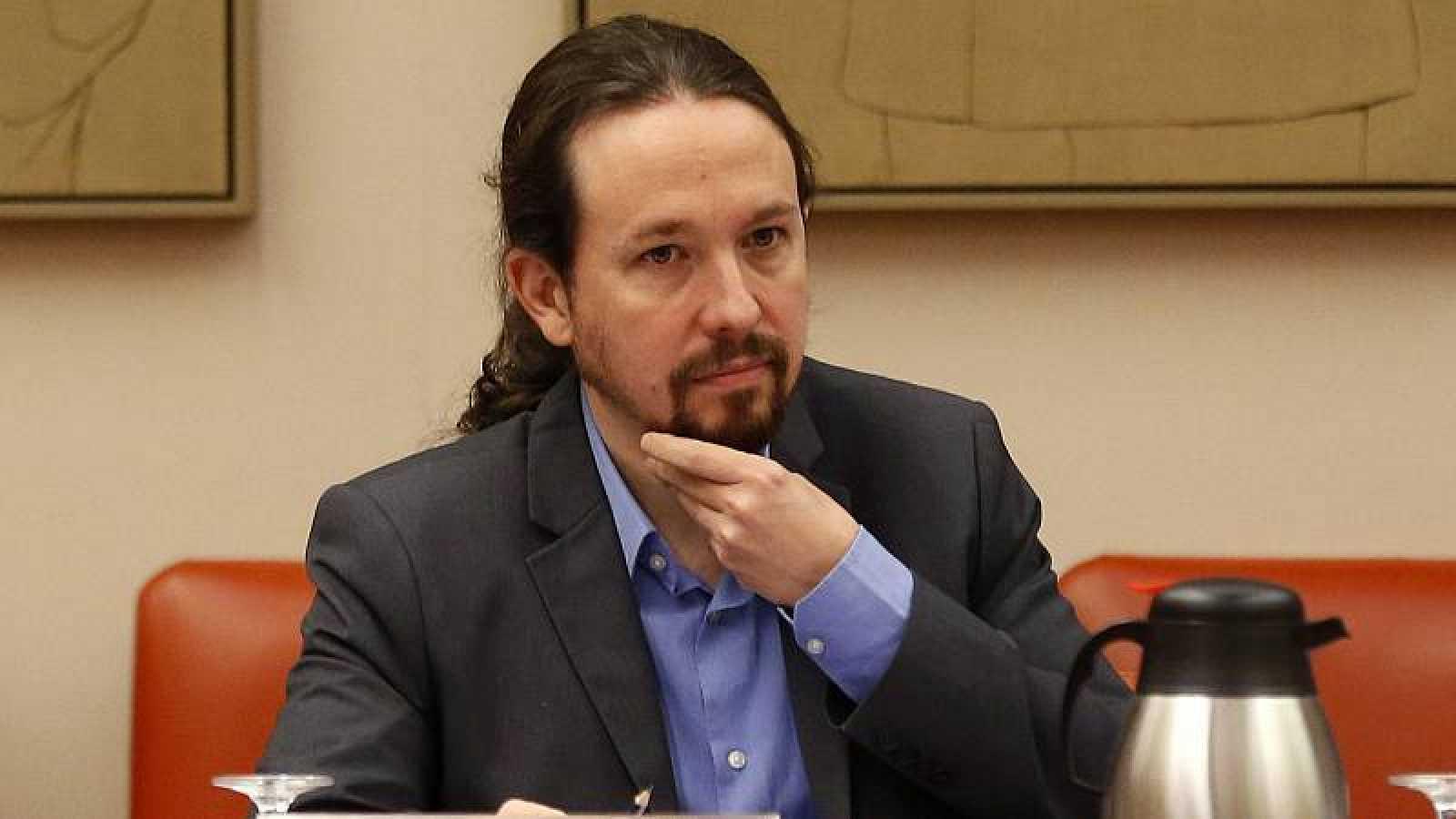 El vicepresidente segundo del Gobierno, Pablo Iglesias, en una imagen de archivo.