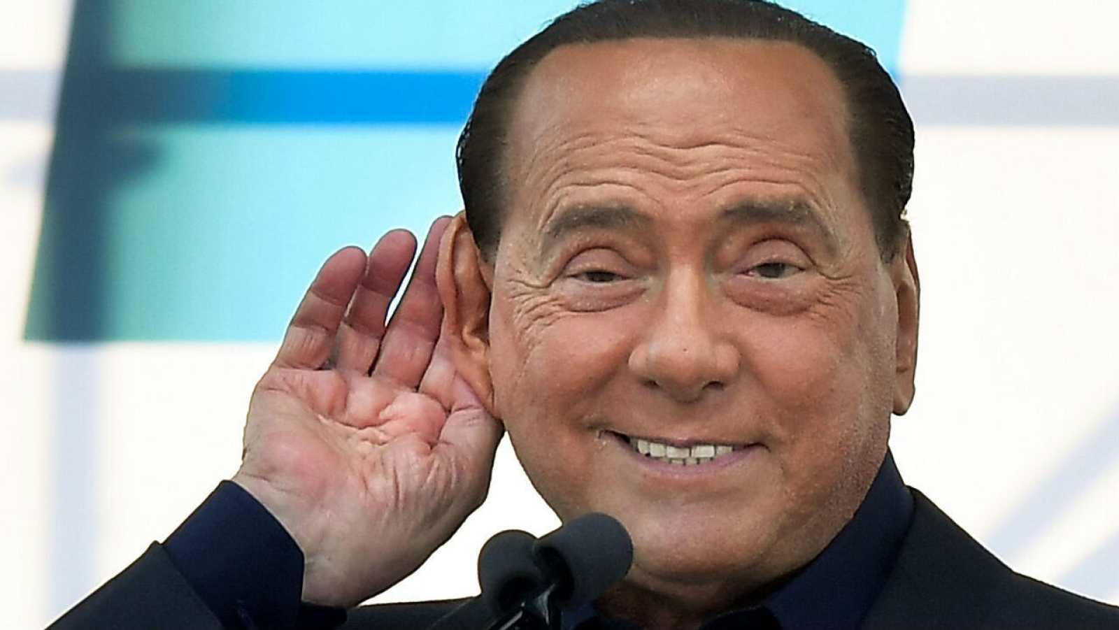 El líder del partido liberal-conservador italiano Forza Italia, Silvio Berlusconi, en una imagen de archivo.