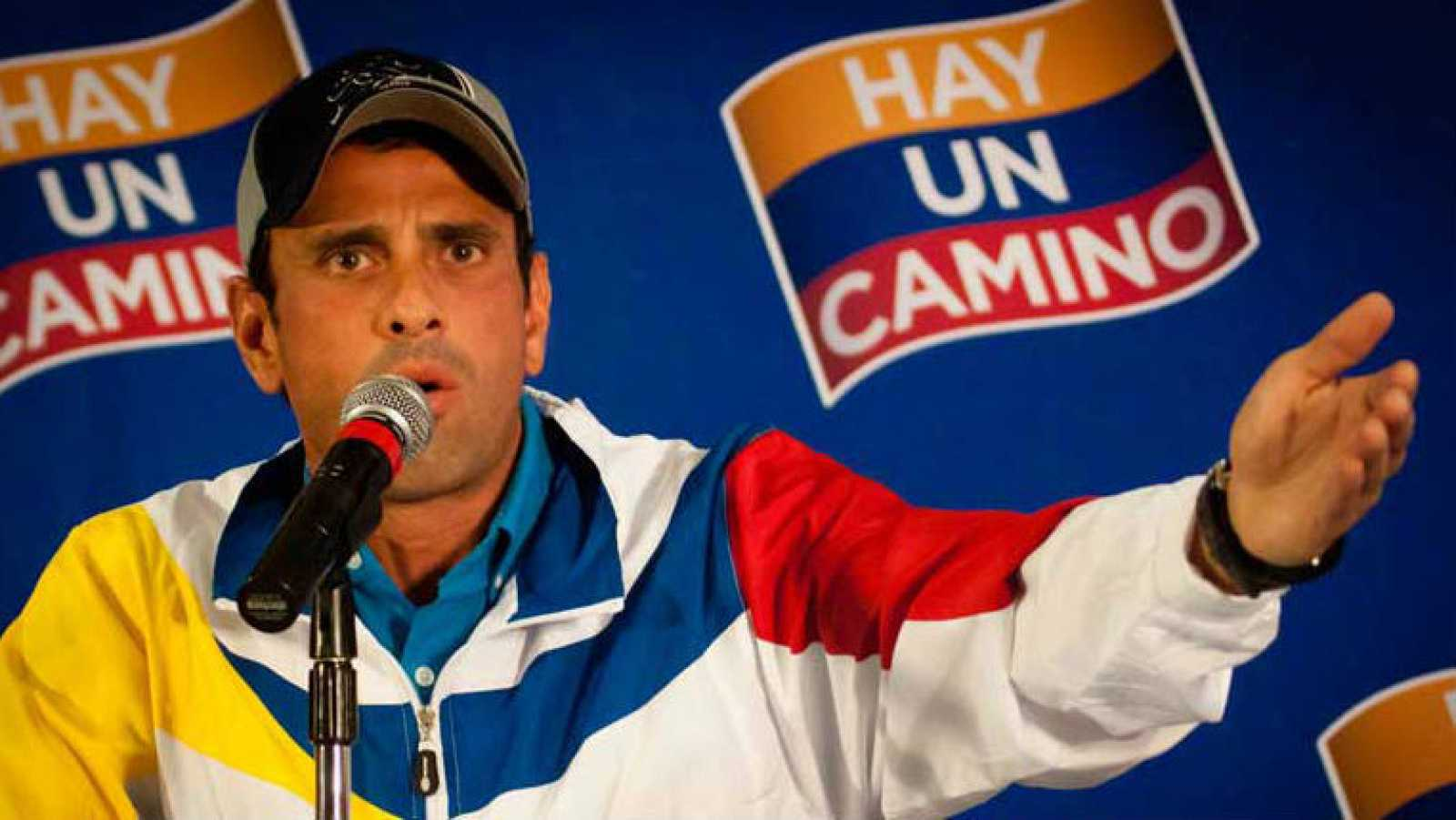 El opositor y dos veces candidato a la presidencia de Venezuela, Henrique Capriles,