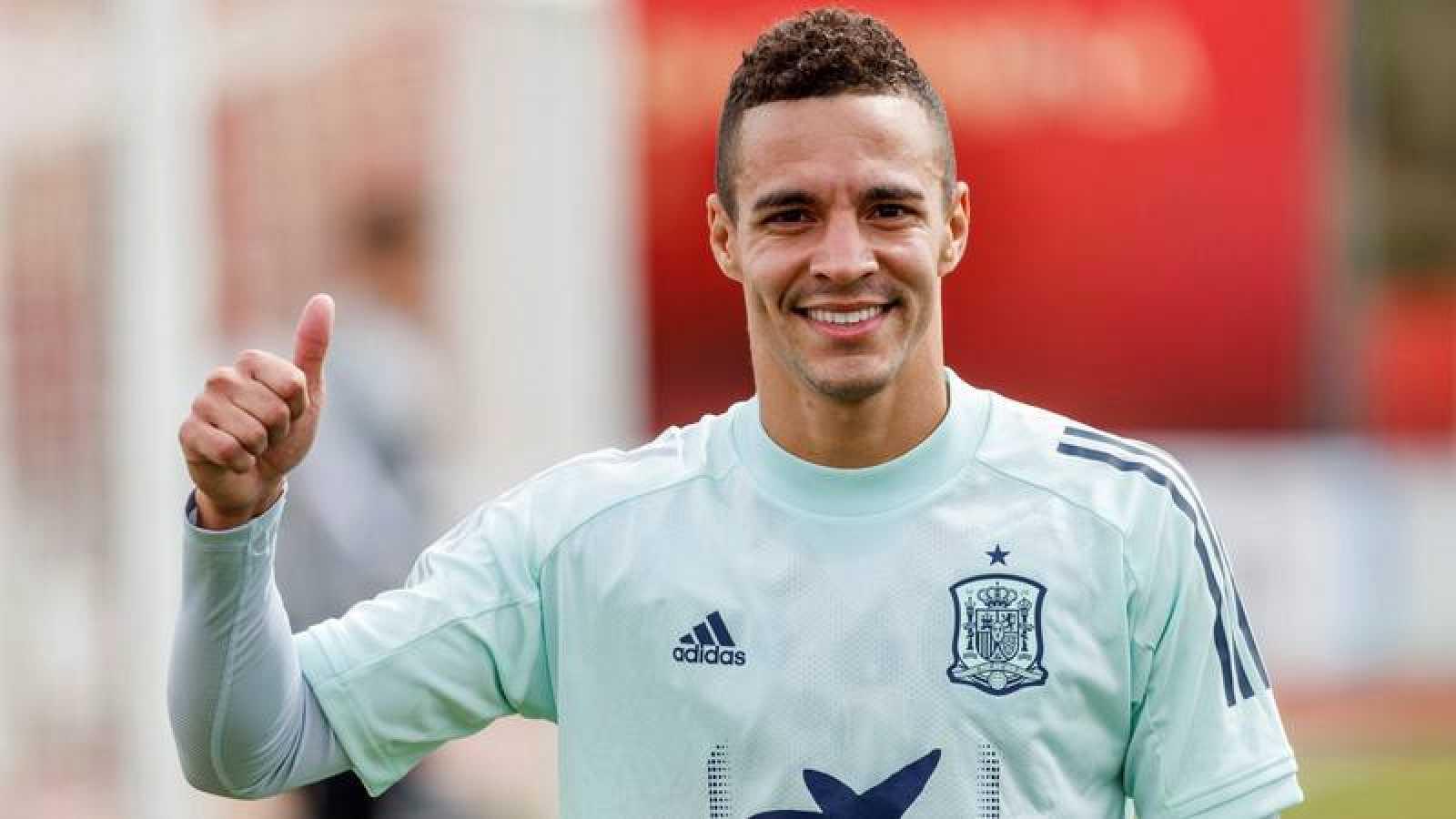 Rodrigo, en la concentración de la selección.