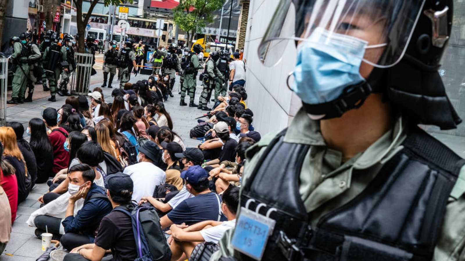 """Expertos de la ONU condenan la ley de seguridad de Hong Kong por """"infringir ciertos derechos fundamentales""""."""