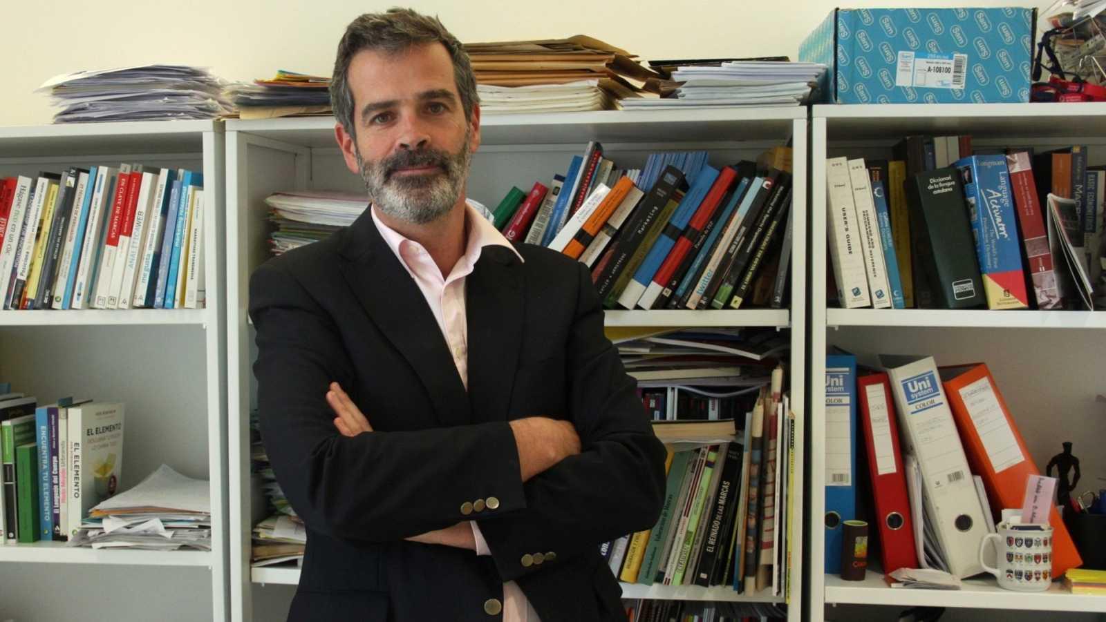 Francesc Pujol, director del Media, Reputation and Intangibles Center (MRI) de la Universidad de Navarra.