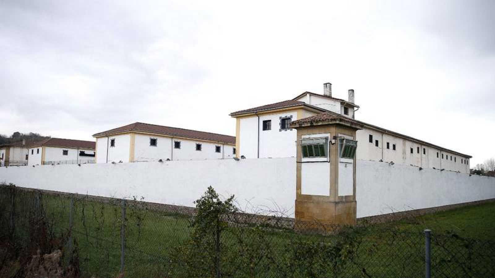 Vista de la prisión de Martutene, en San Sebastián
