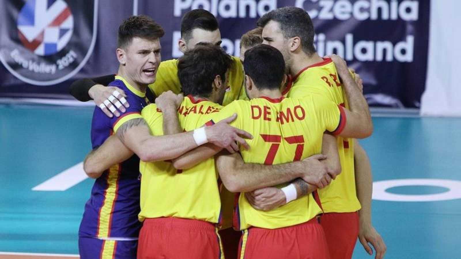 España ha vuelto a la senda de la victoria este sábado ante Letonia.