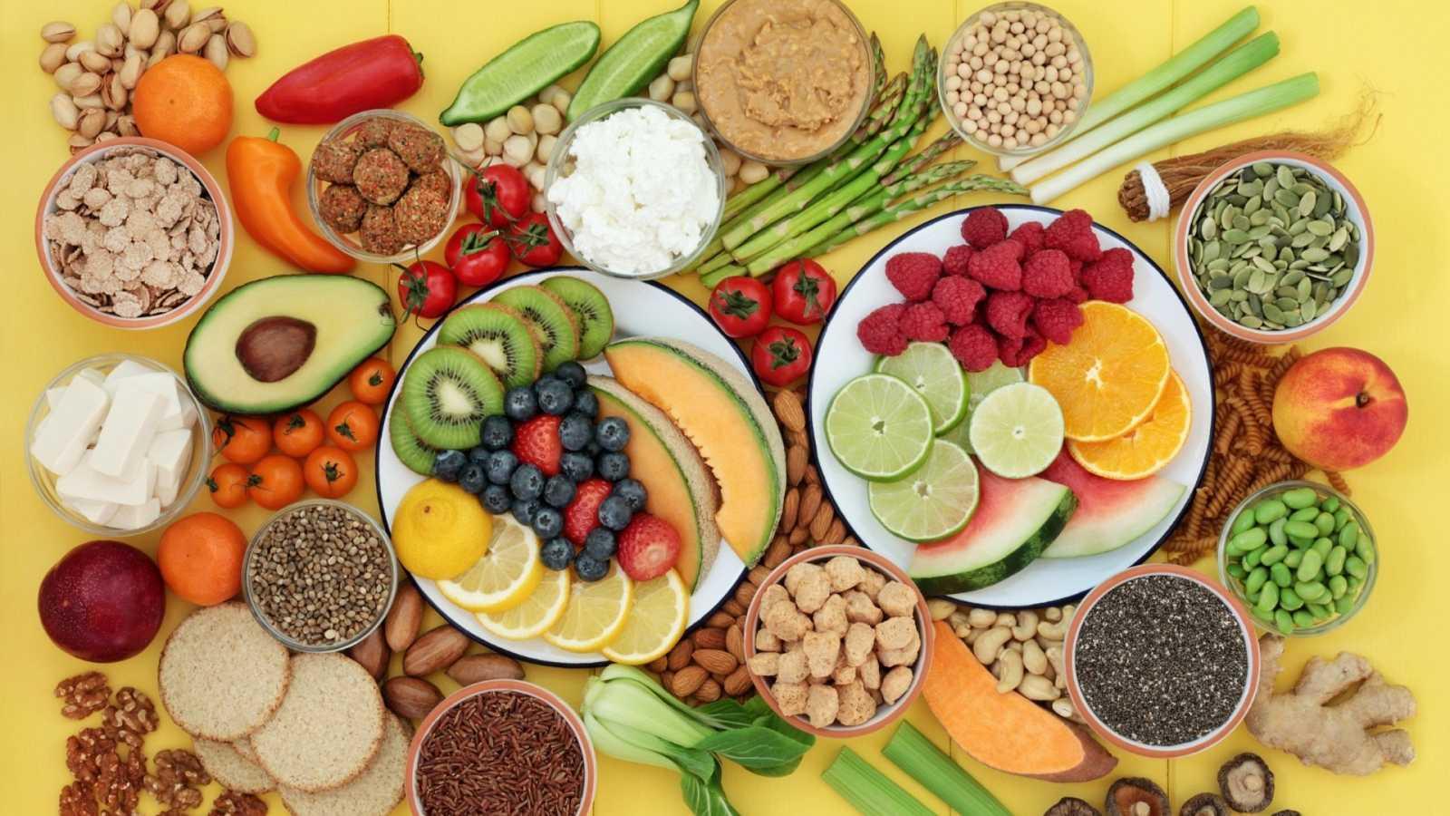 Lista de snacks saludables