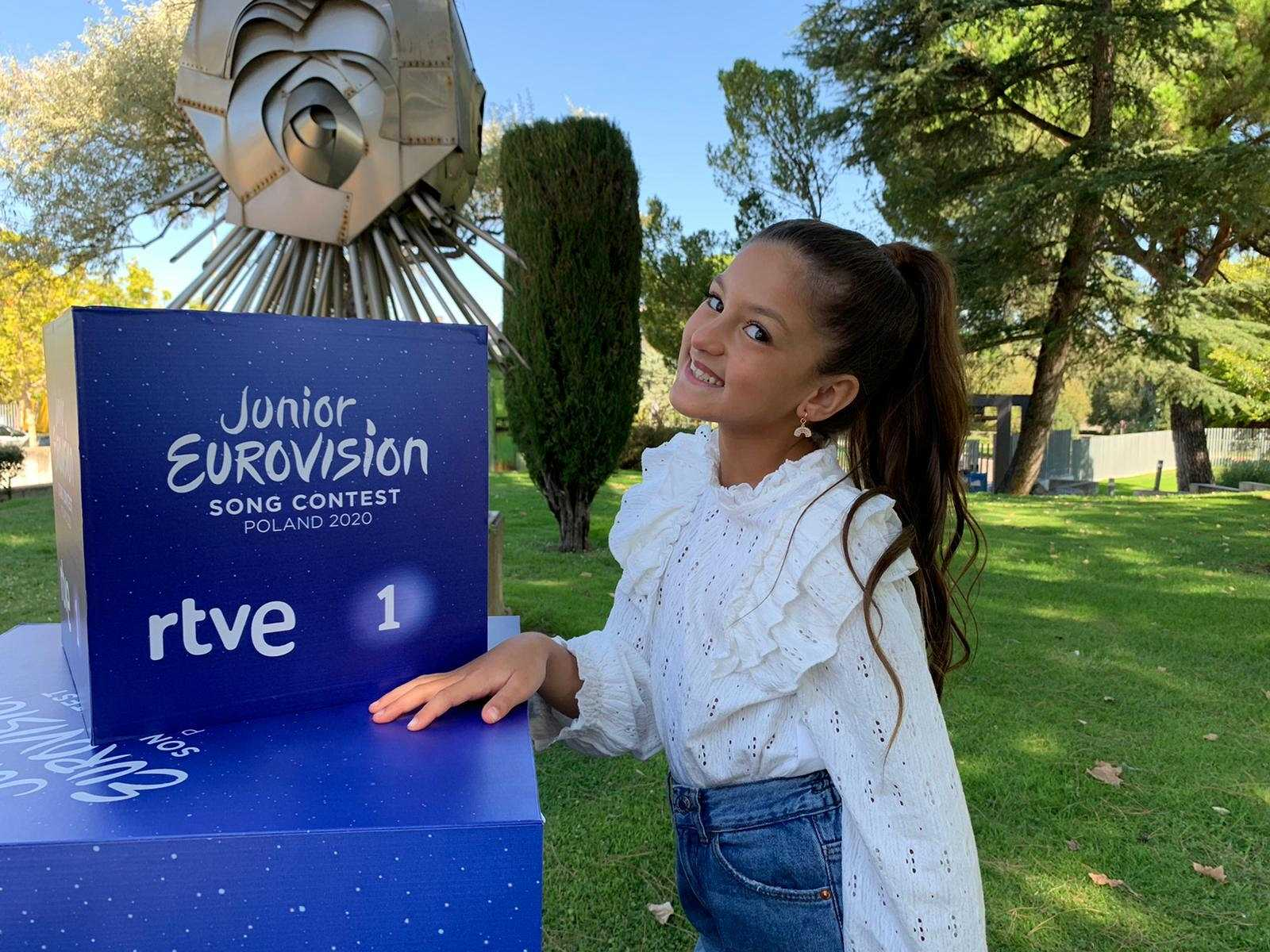 Soleá, representante española en Eurovisión Junior