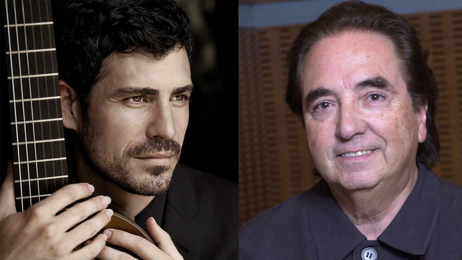 Pablo Sainz Viillegas y Enrique García Asensio