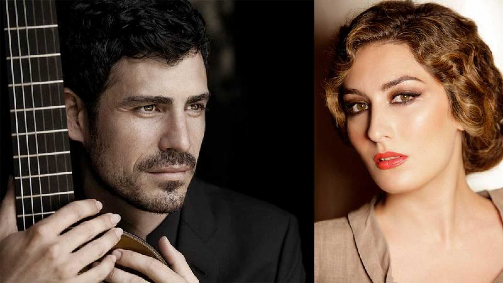 Pablo Sainz Villegas y Estrella Morente