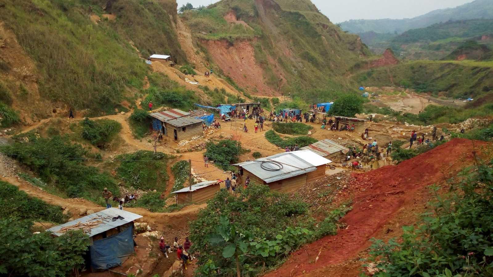 Imagen de archivo de una mina de oro cerca de Kamituga, en la República Democrática del Congo.
