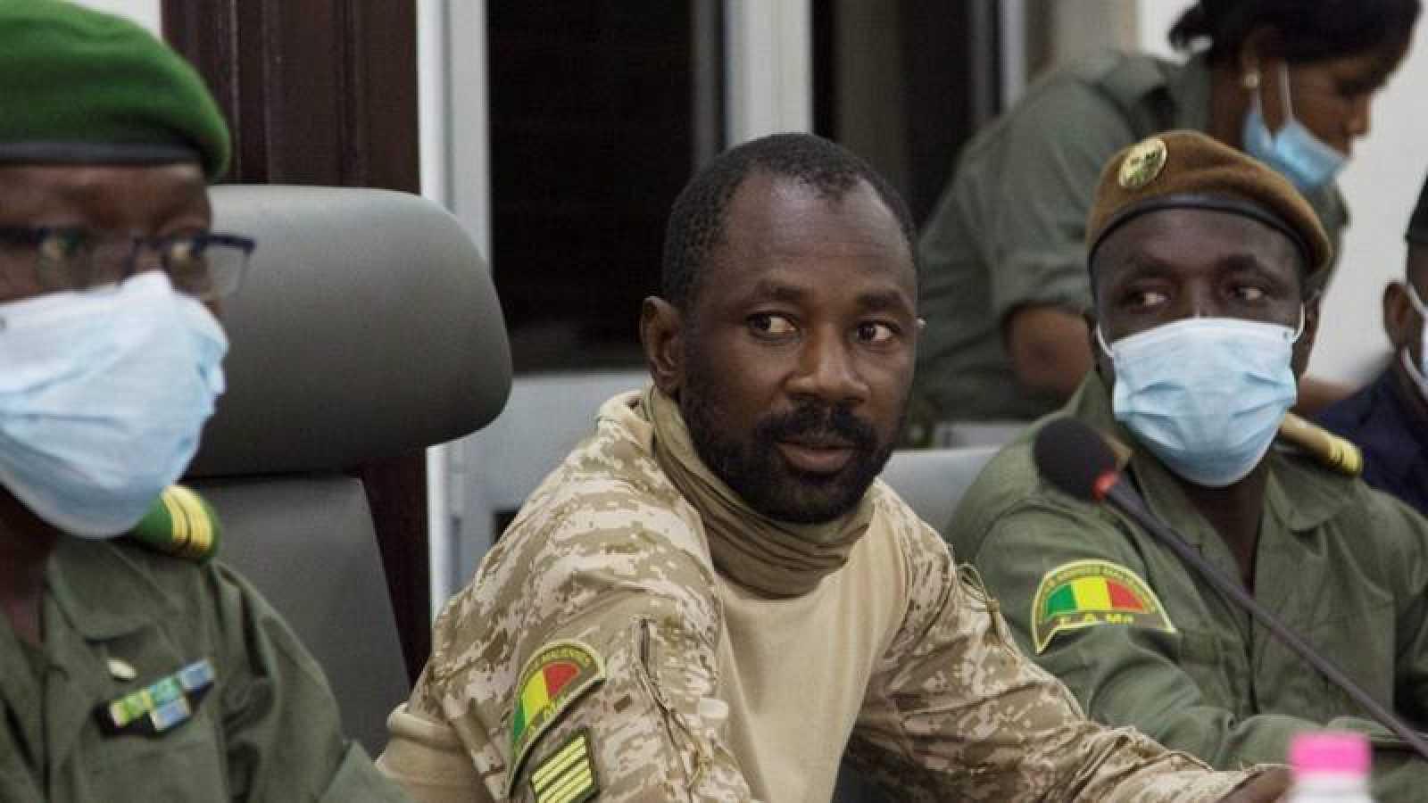 Assimi Goita, presidente del Comité Nacional para la Salvación del Pueblo