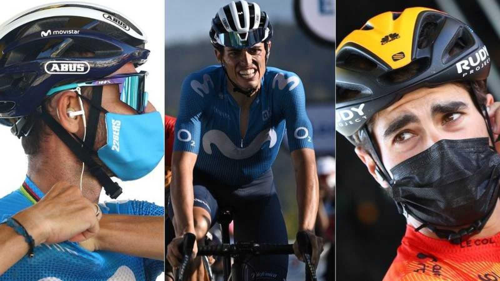 Alejandro Valverde, Enric Mas y Mikel Landa lideran la preselección española para el Mundial de Imola.