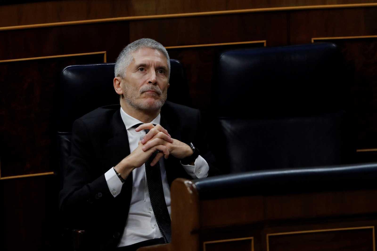 El ministro del Interior, Fernando Grande-Marlaska, en una imagen de archivo.