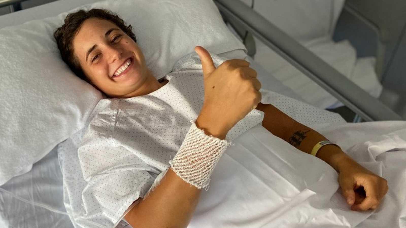 Ana Carrasco tiene que pasar por quirófano y dice adiós a la temporada