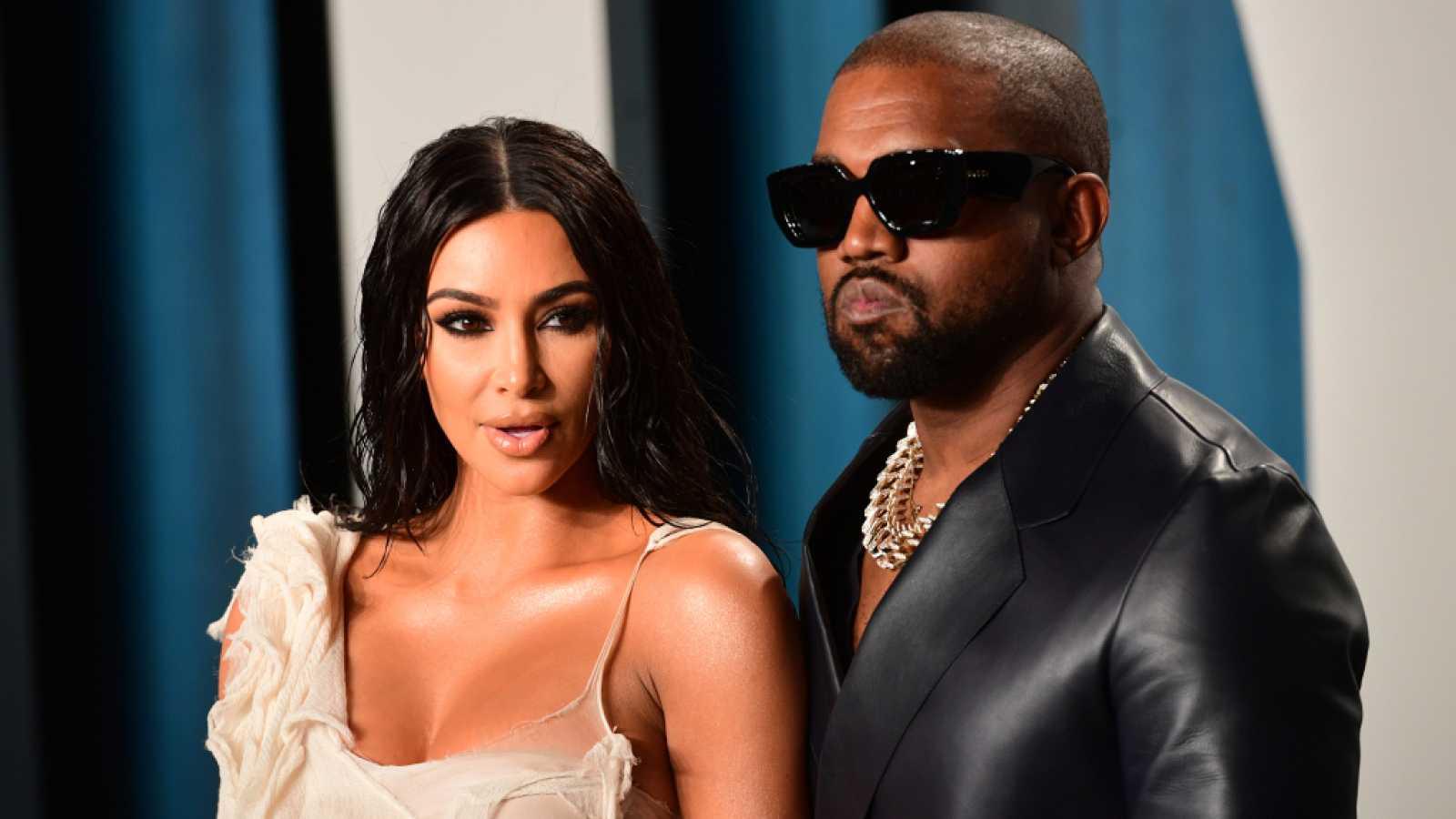 Kim anuncia un apagón en redes y Kanye amenaza con no lanzar más música