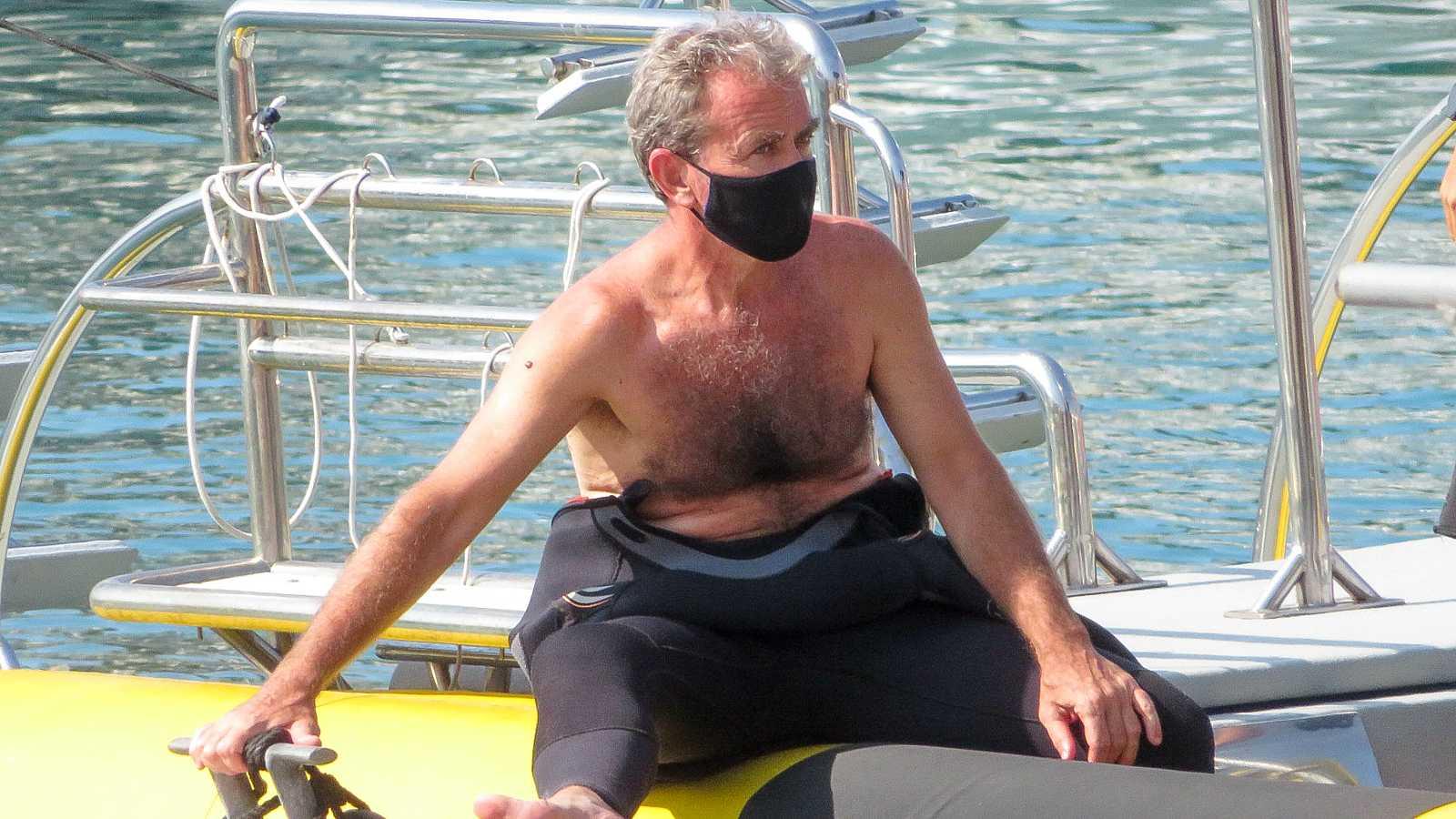 Fernando Simón de vacaciones en Mallorca