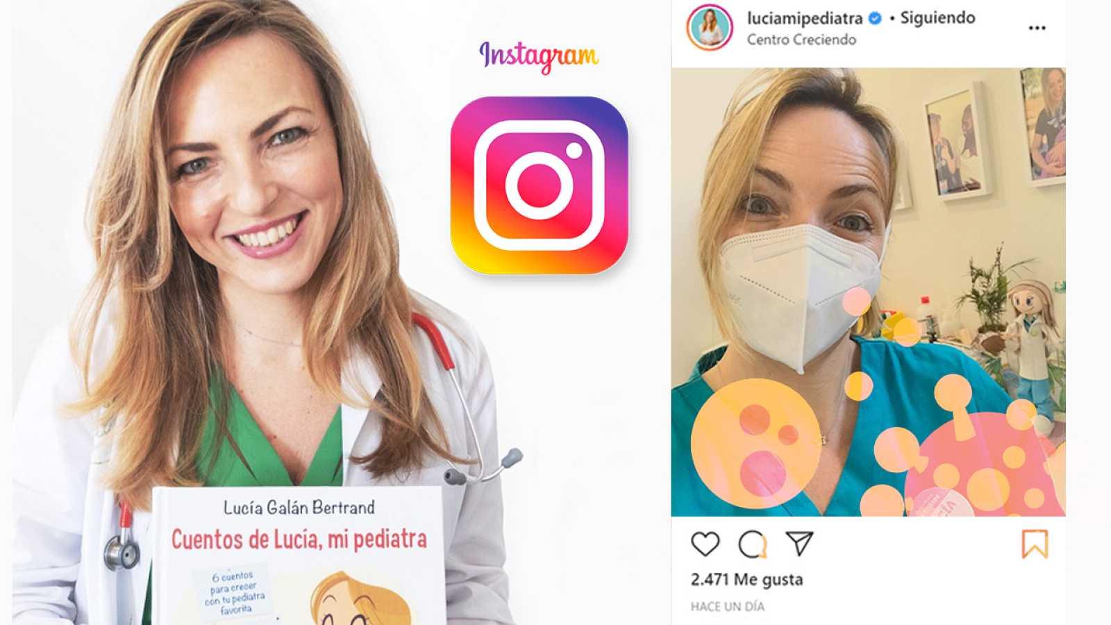 'Lucía, mi pediatra' es Lucía Galán, una doctora con más de 360 mil seguidores en Instagram