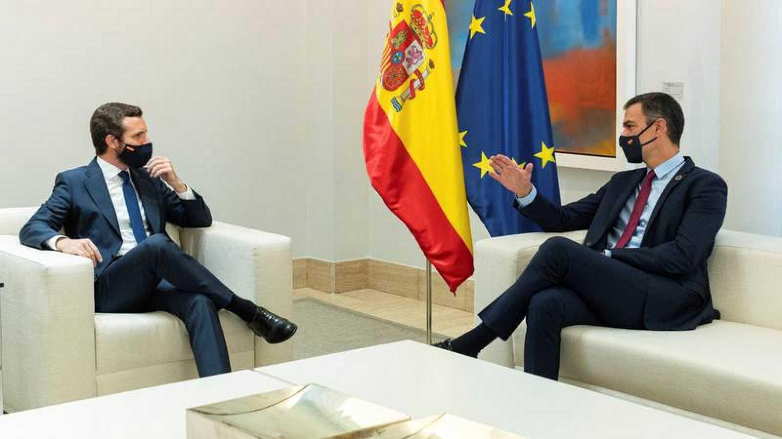 Barómetro CIS septiembre 2020: Pedro Sánchez y Pablo Casado, en la Moncloa