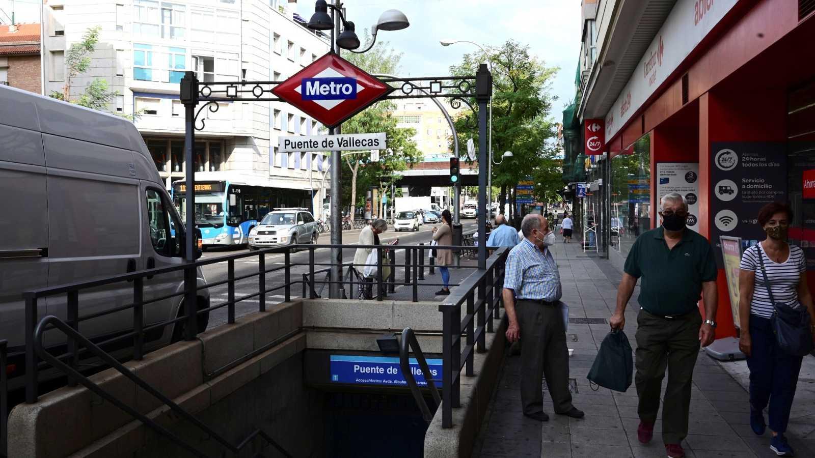 Vallecas es uno de los distritos madrileños más afectados por la pandemia.
