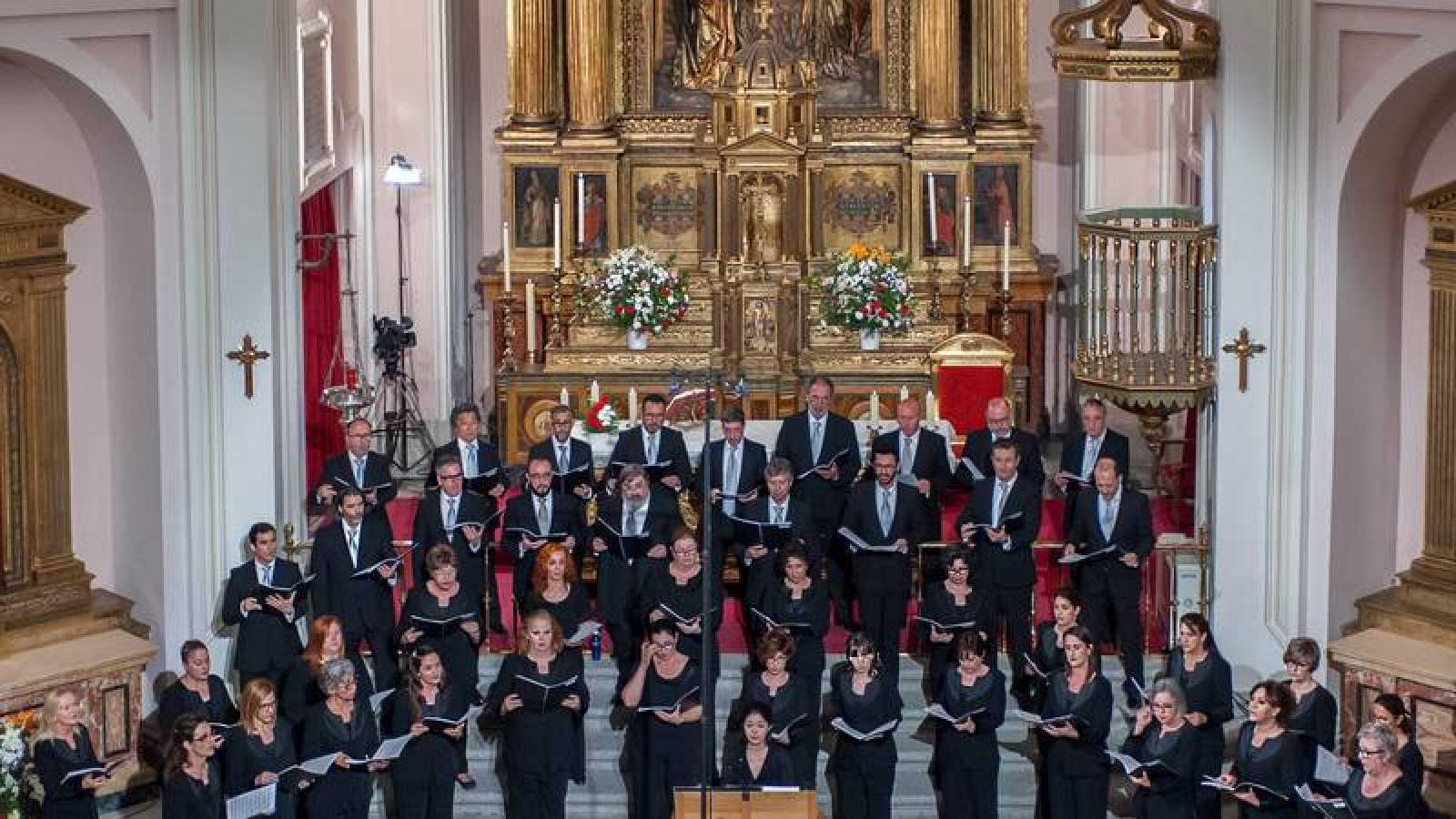 Coro RTVE en Santa Isabel