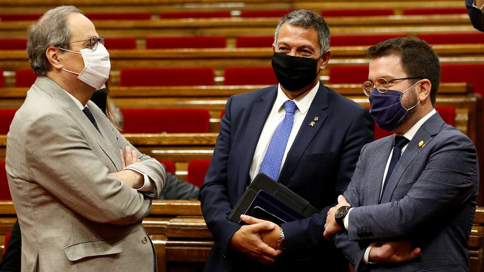 El Parlament rechaza acatar la decisión del Tribunal Supremo sobre la inhabilitación de Torra