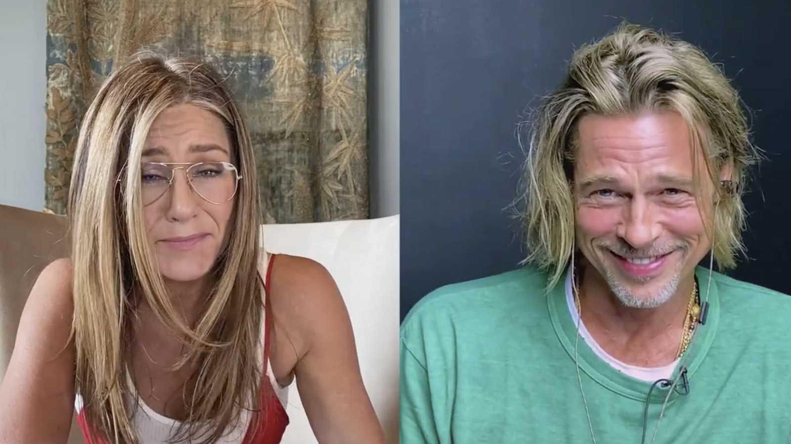 El esperado reencuentro de Brad Pitt y Jennifer Aniston