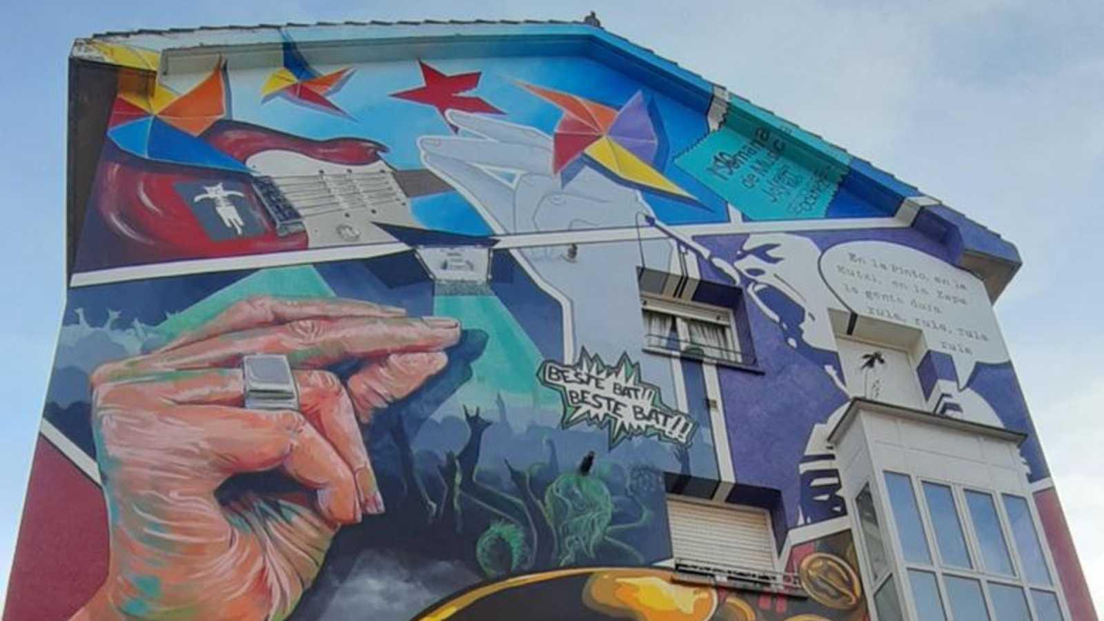 Ruta arte urbano por España