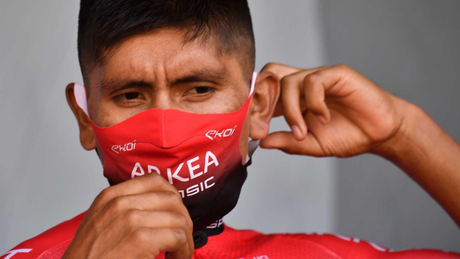 Imagen del ciclista colombiano del equipo Arkéa, Nairo Quintana
