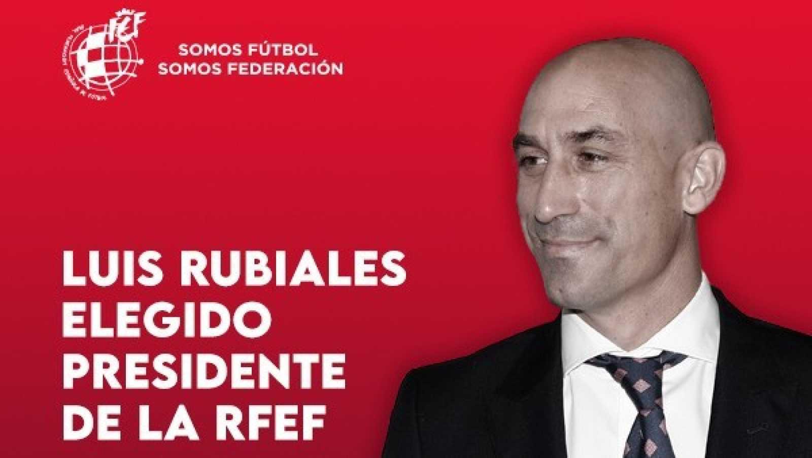La Asamblea reelige a Rubiales com presidente de la RFEF para el ciclo 2020-2024
