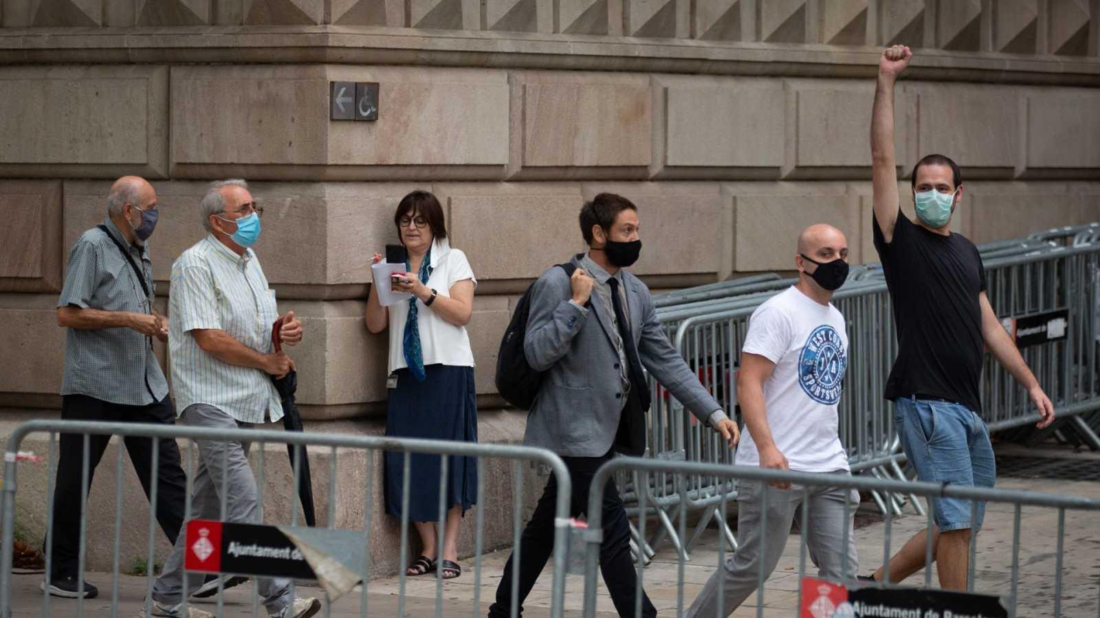 La Audiencia de Barcelona juzga desde este lunes a cuatro CDR