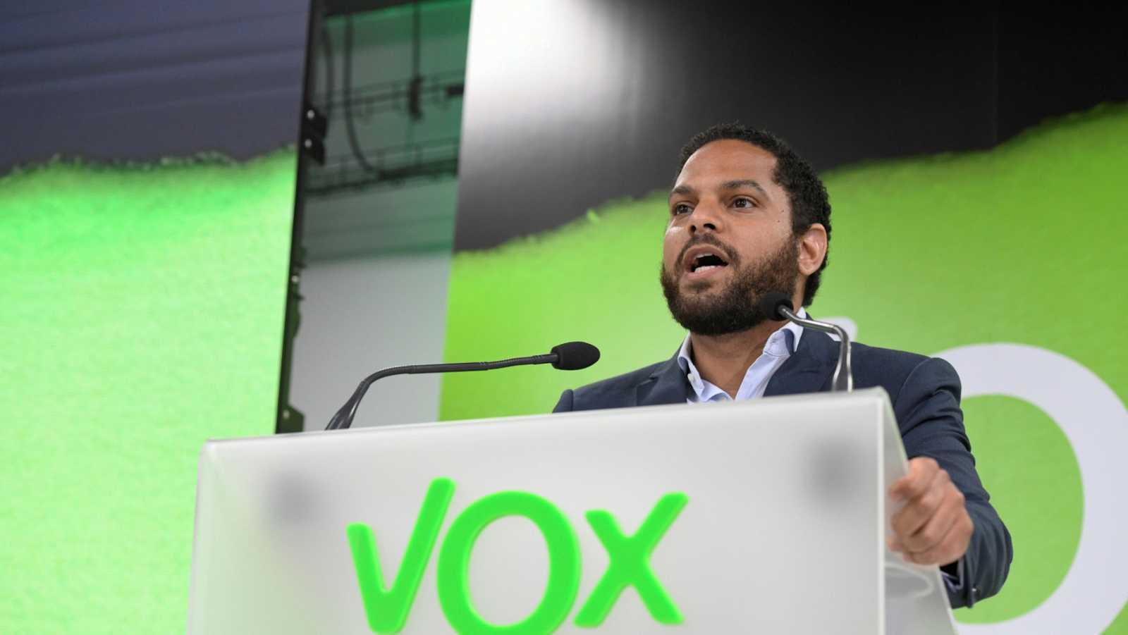 El diputado de Vox, Ignacio Garriga, en una imagen de archivo.