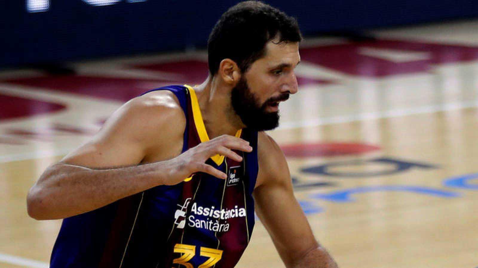Nikola Mirotic, la estrella del Barcelona.