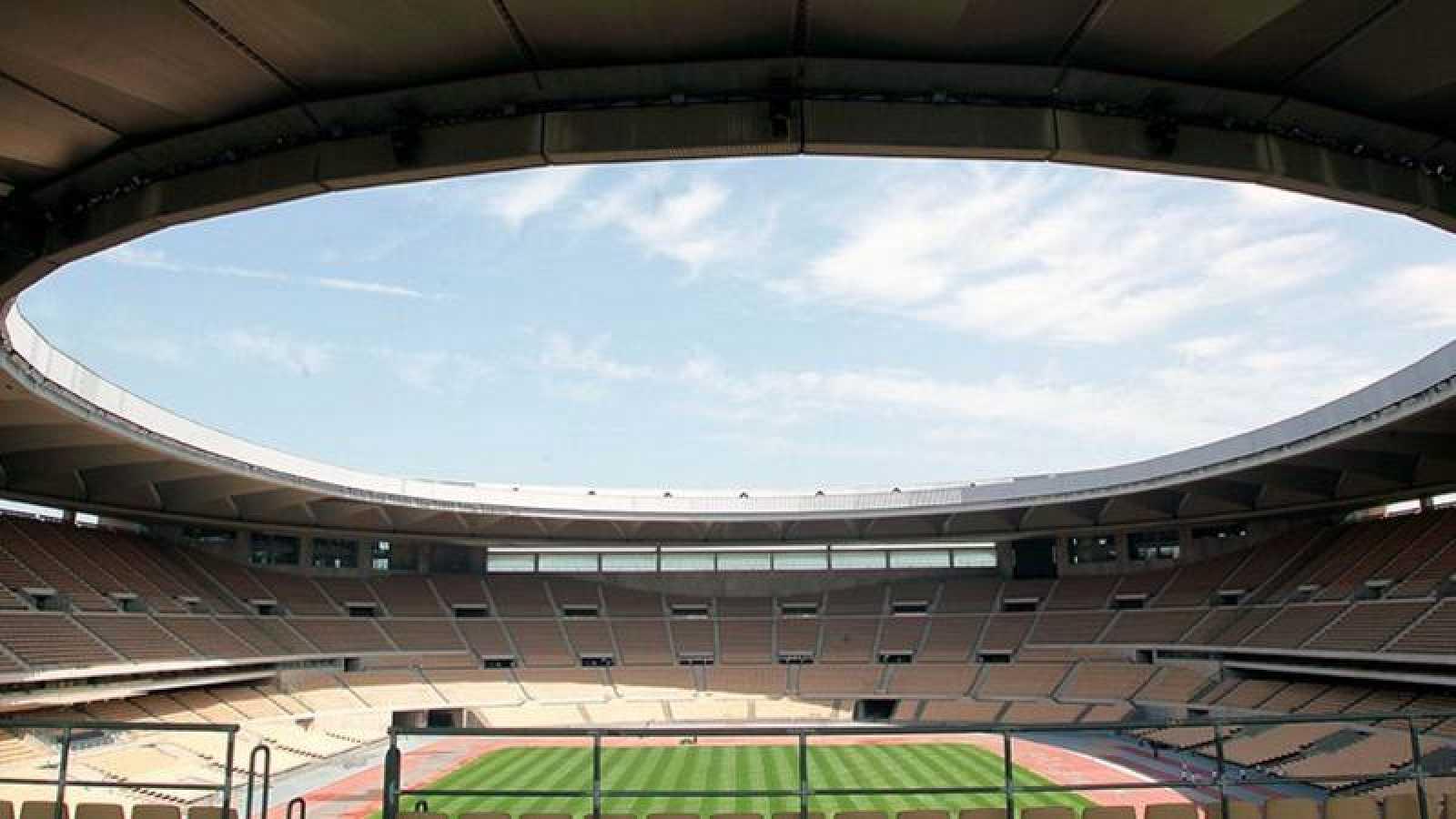 Imagen del Estadio de La Cartuja en Sevilla.