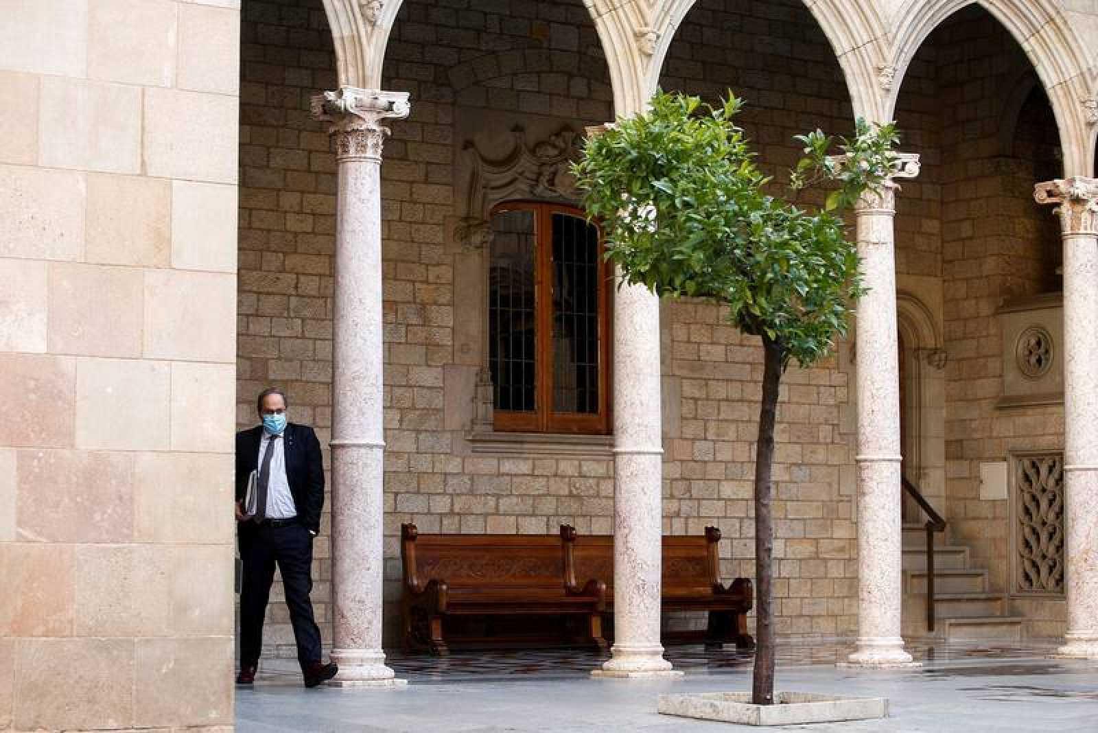 El hasta ahora presidente de la Generalitat, Quim Torra.