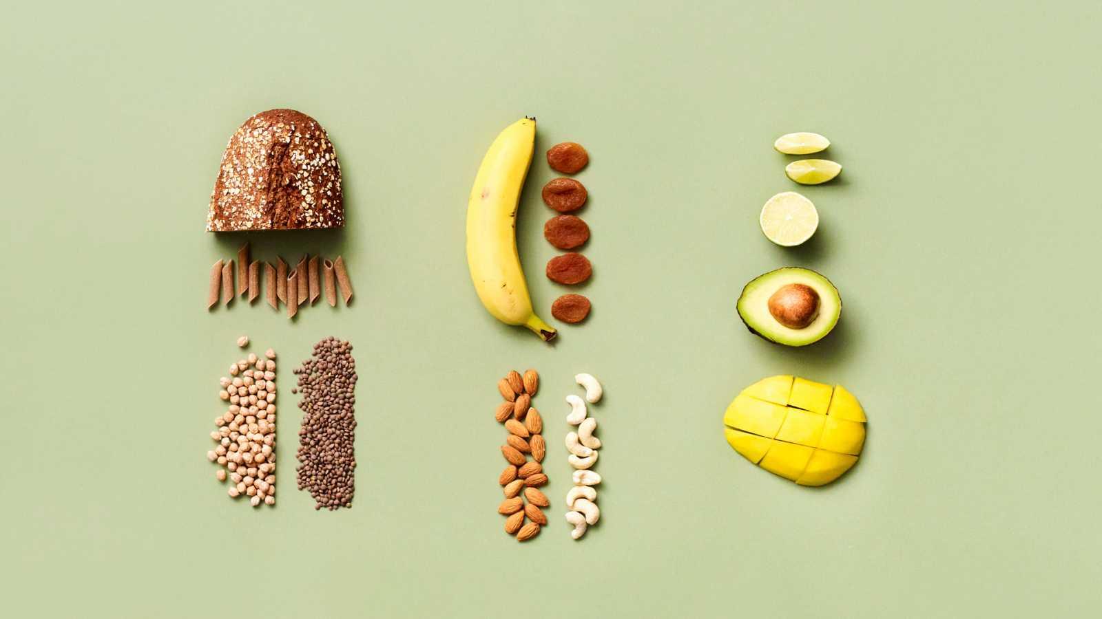 Alimentos que nos aportan energías