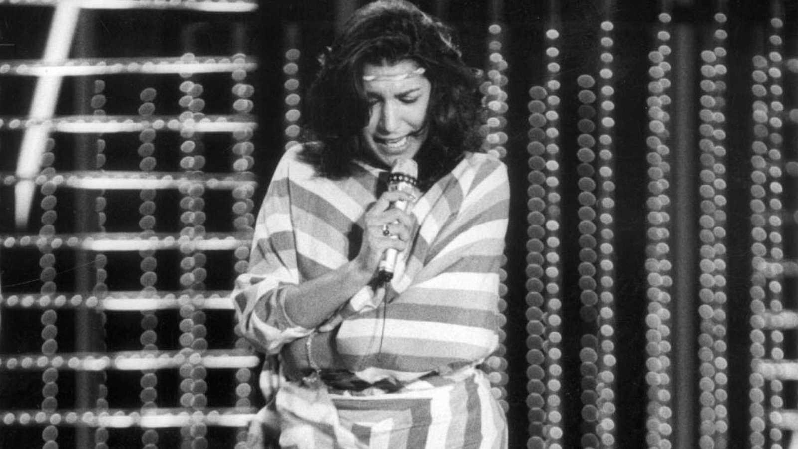 Remedios Amaya en Eurovisión (Múnich, 1983)