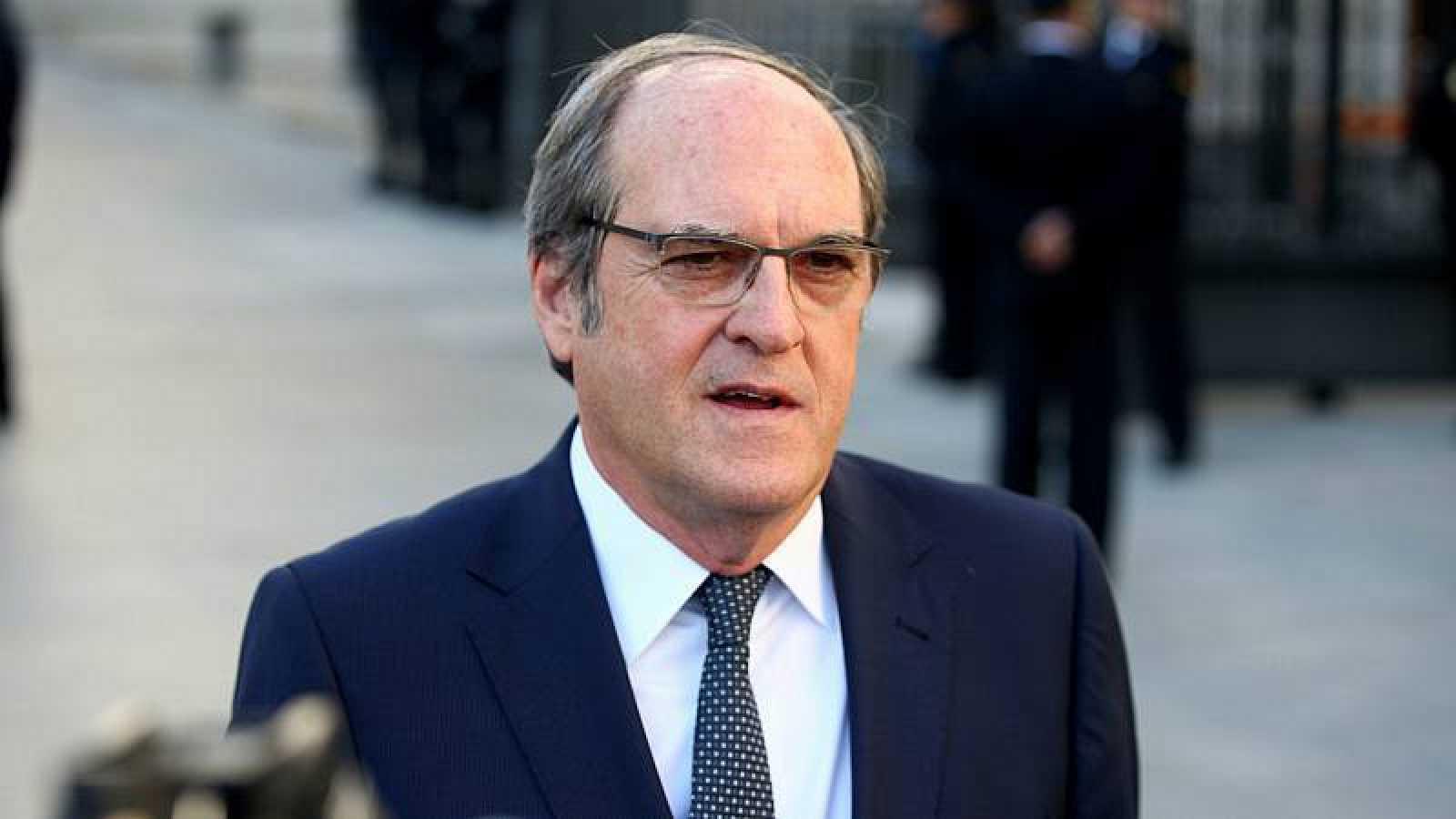 El portavoz del PSOE en la Asamblea, Ángel Gabilondo, en una imagen de archivo.