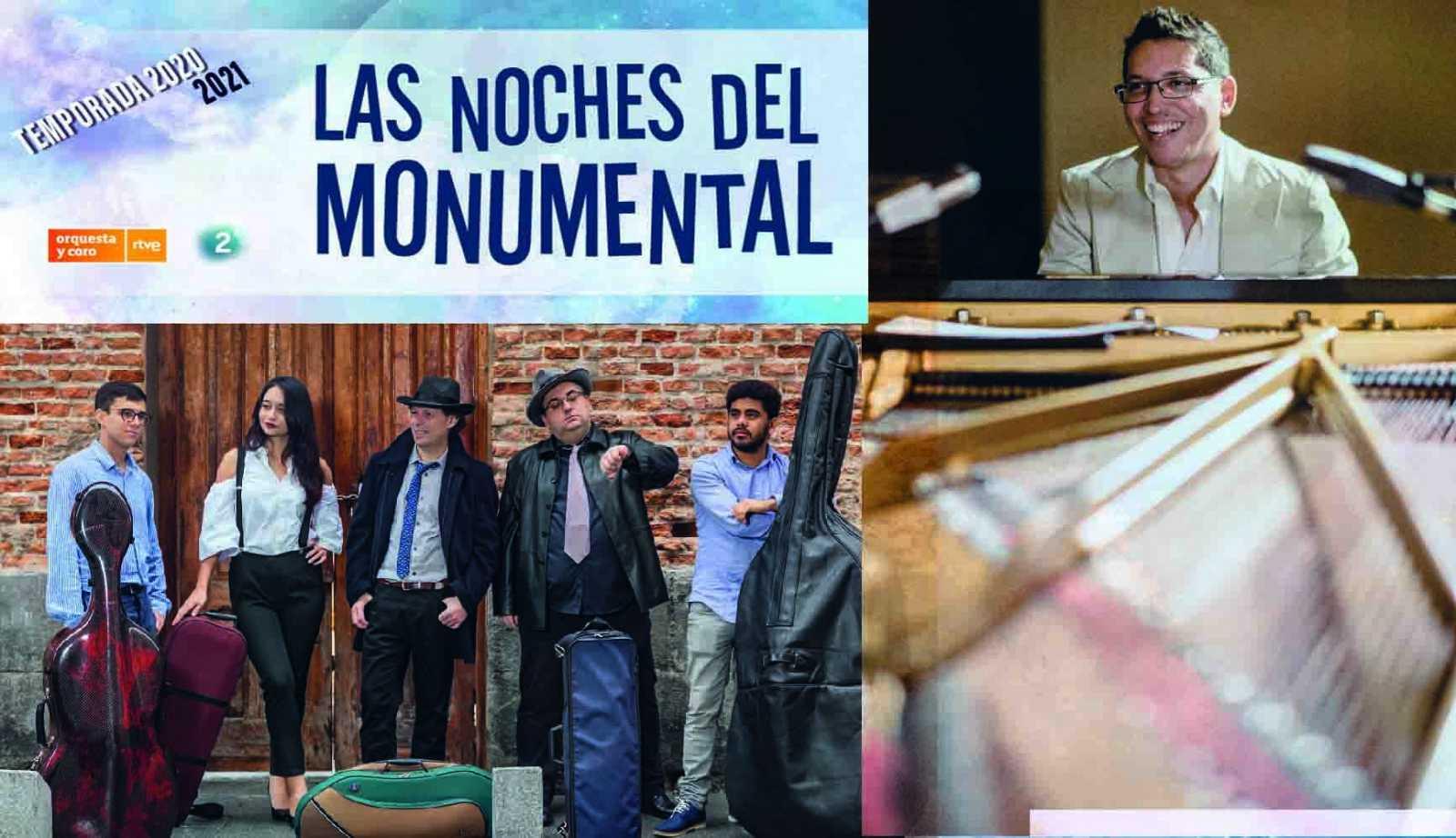 'Las noches del Monumental'. Cartel.