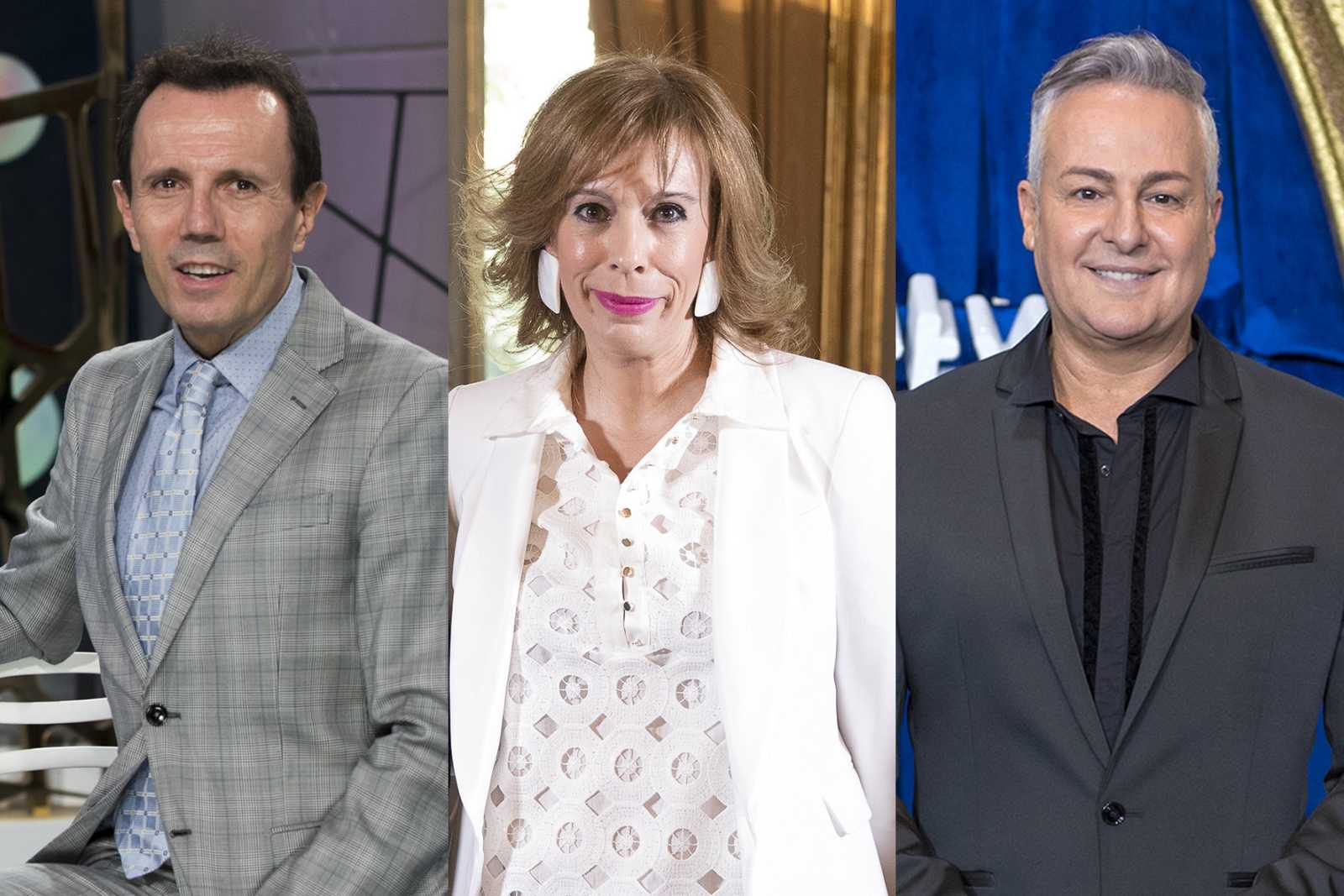Jesús María Montes-Fernández, María Eizaguirre y Roberto Herrera