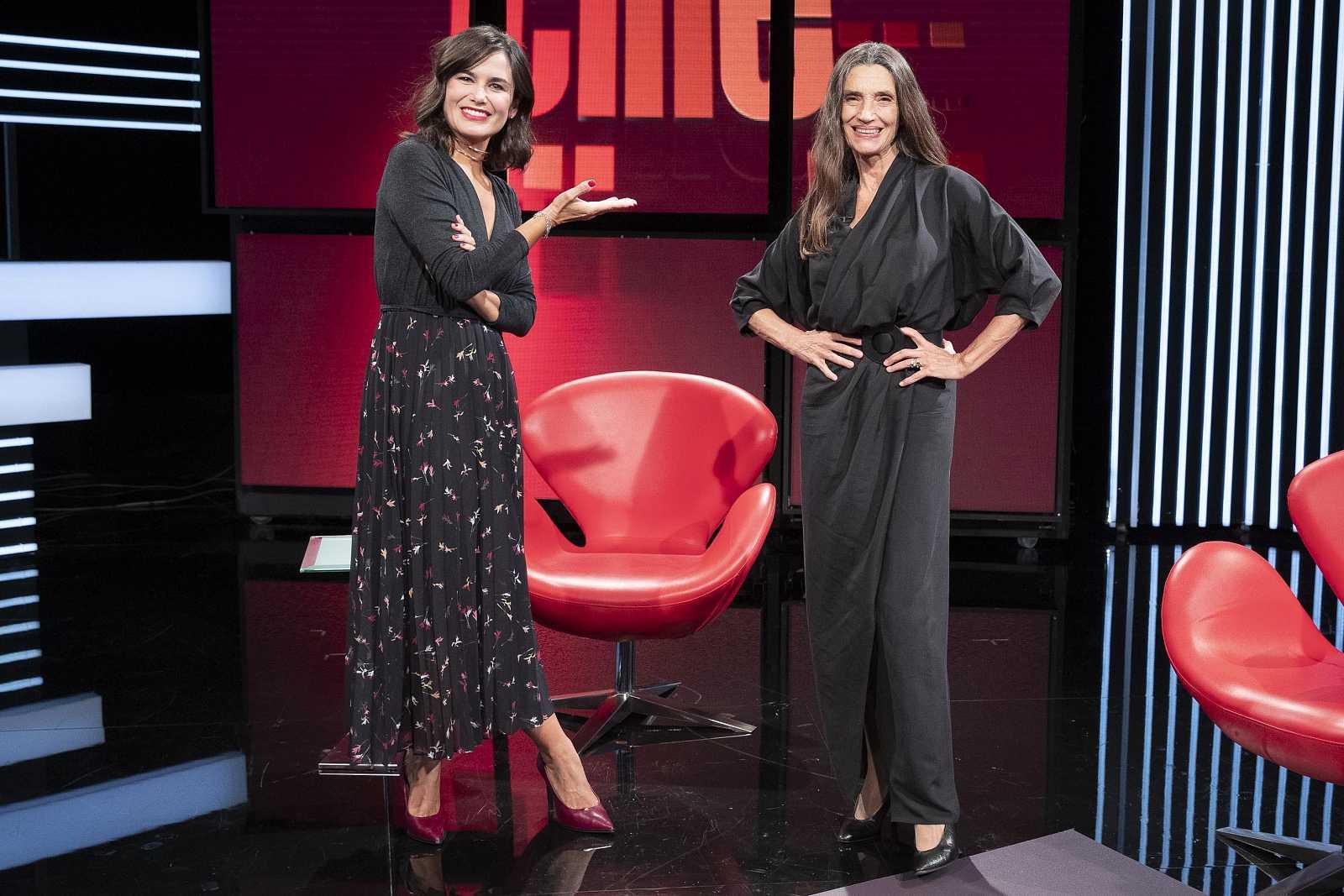 Elena S. Sánchez y Ángela Molina