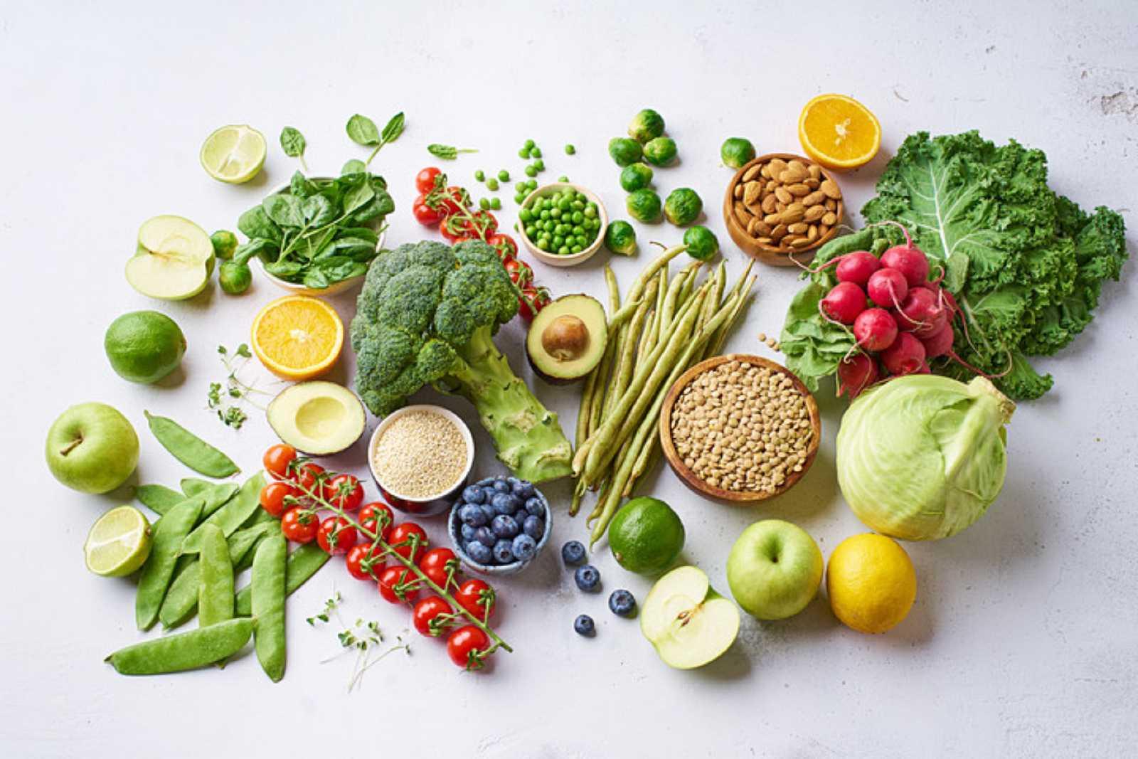 Vegetales, frutas y hortalizas: Día del Vegetarianismo