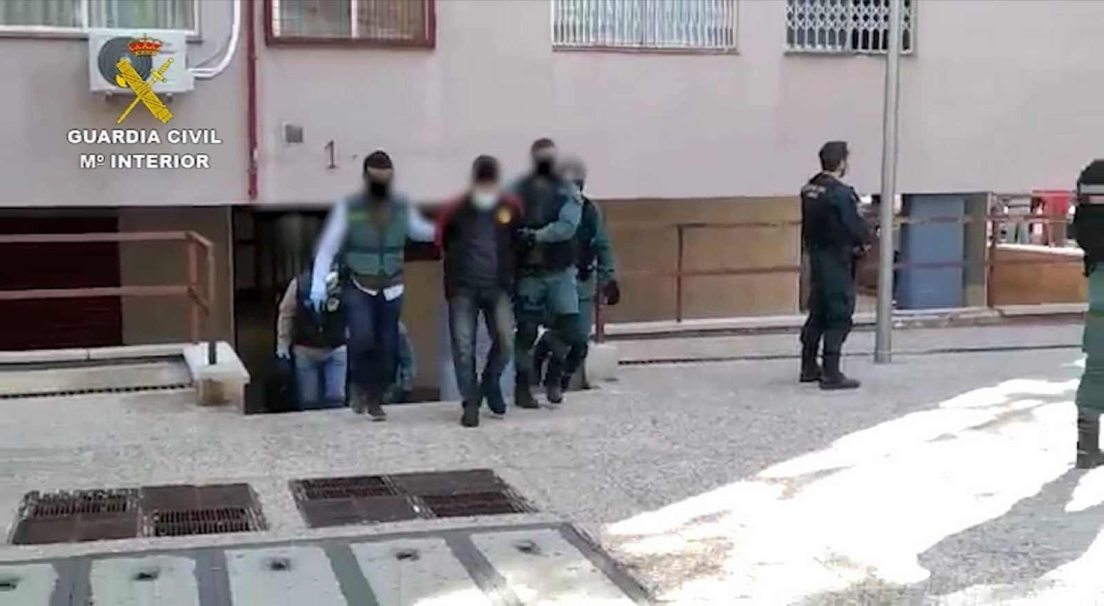 La Guardia Civil detiene a un presunto miembro de Daesh en Madrid
