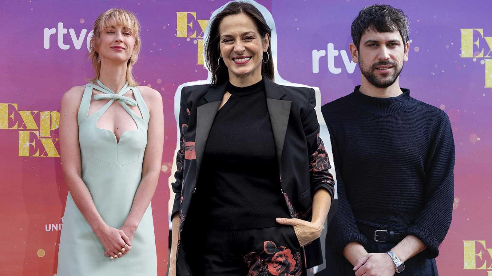 """""""¿Qué prefieres...?"""" versión cine clásico, con Ingrid García-Jonsson, Natalia Millán y Nacho Álvarez"""