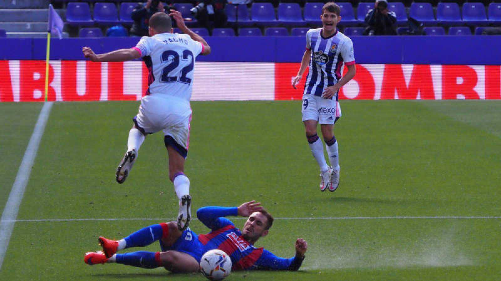 Kevin Rodrigues da aire al Eibar y ahoga al Valladolid