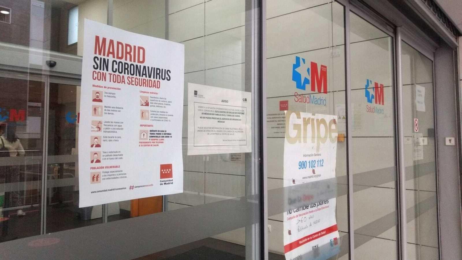 Centro de salud en Coslada, Madrid-  EFE/Marina de la Cruz