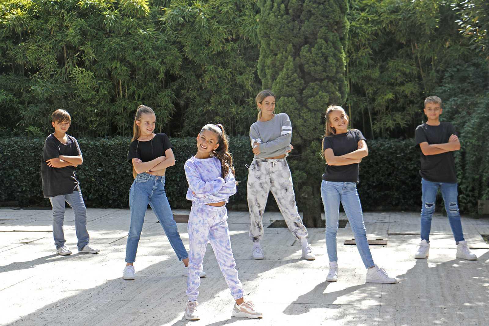 Soleá con Vicky Gómez y sus bailarines