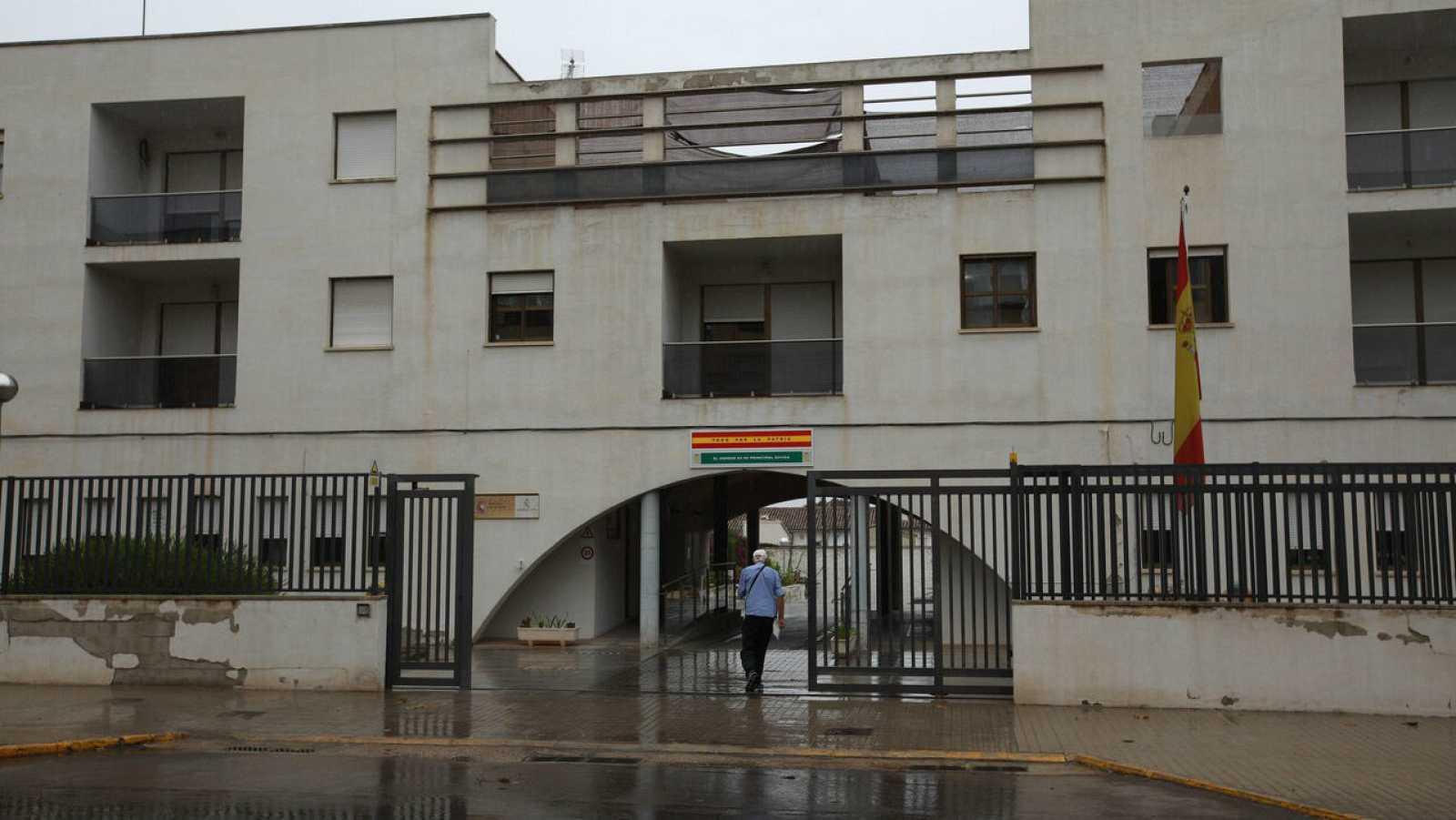 El Cuartel de la Guardia Civil de Xátiva.