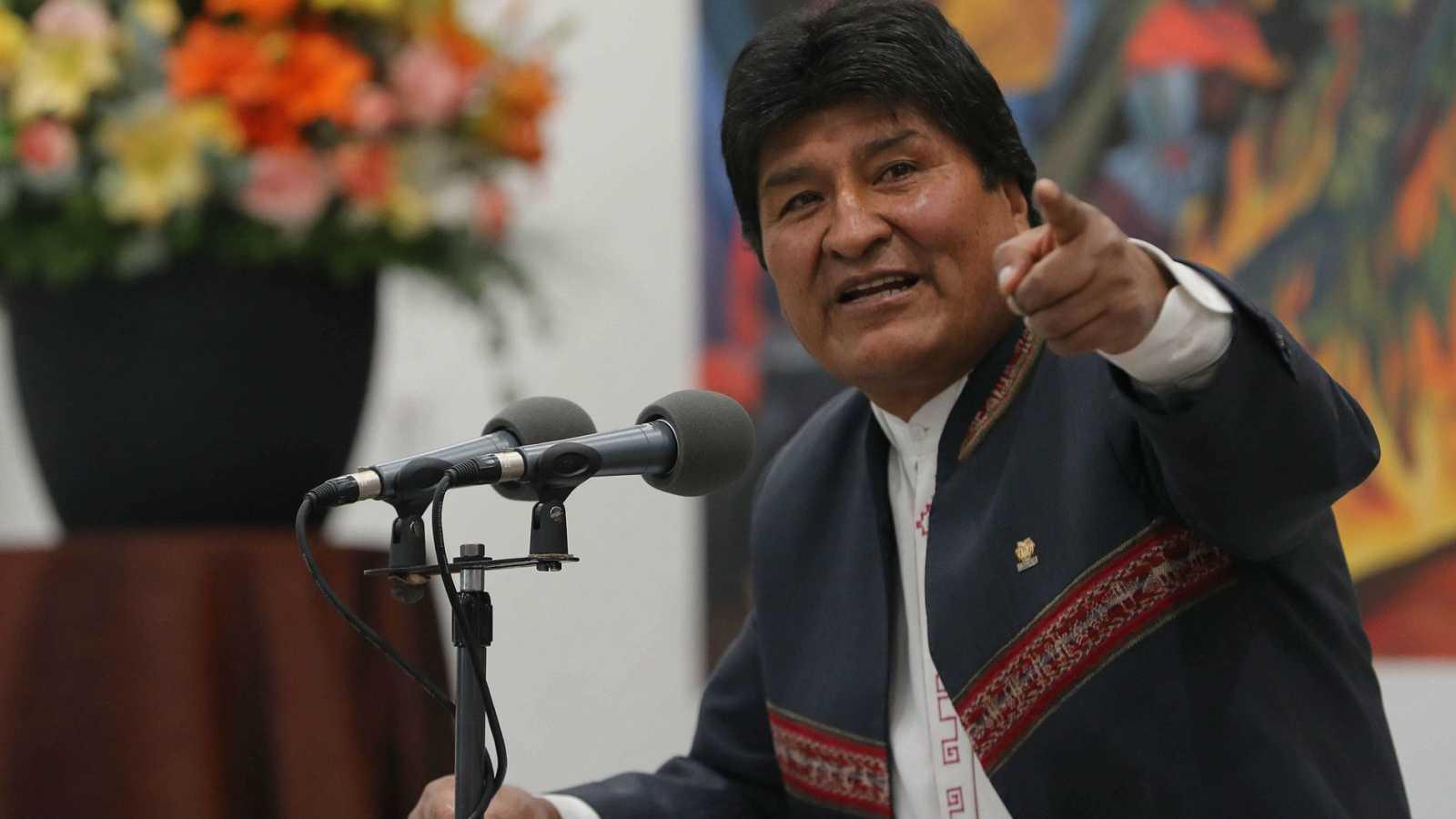 Evo Morales en una imagen de archivo.