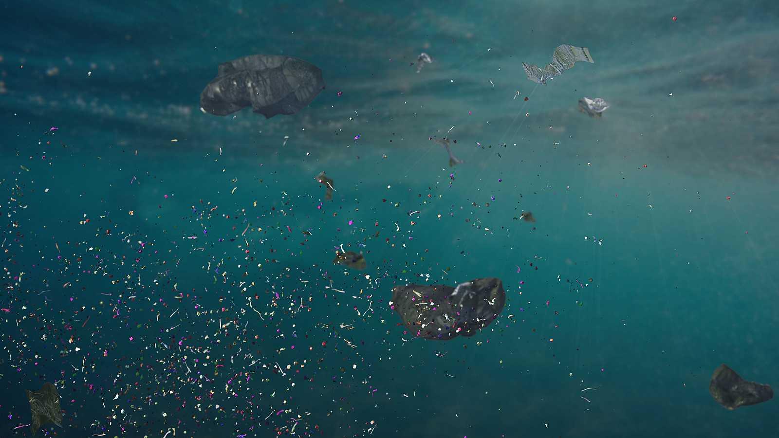Unas 14 millones de toneladas de microplásticos contaminan el fondo de los océanos.